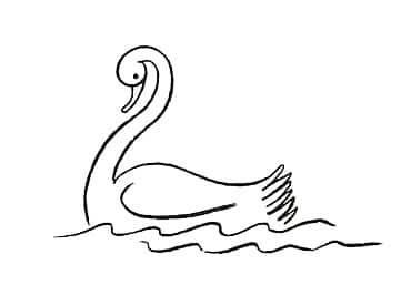 kako-nacrtati-labuda