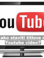 Kako staviti titlove na Youtube video?