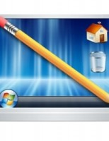 Kako povećati desktop?