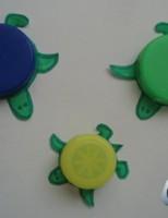 Kako napraviti kornjače koristeći čepove boca?