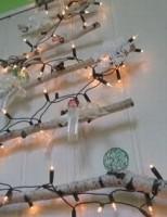 Kako napraviti božićno drvce na zidu?