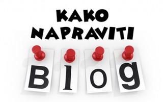 Kako napraviti blog na bloger.hr – u?
