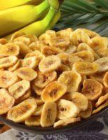 Kako napraviti čips od banane ?