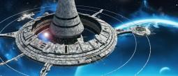 Ilustracija svemirske postaje © freiheitskampfer.deviantart.com