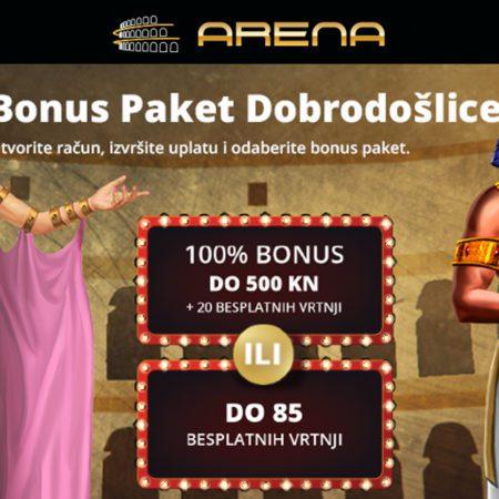 Sizzling Hot, Book of Ra i Lucky Lady's Charm zaigraj u Arena Casinu!