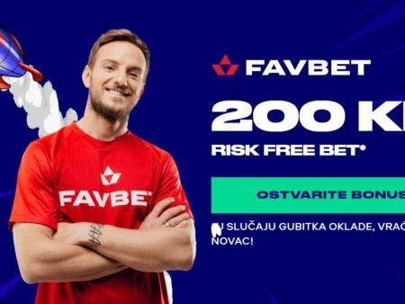 Risk free oklada na Favbet kladionici