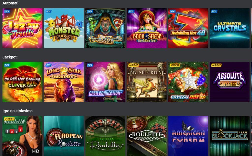 Igre na PSK casino
