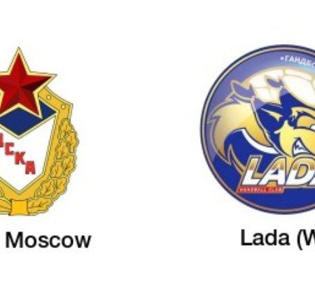 Tip dana: CSKA Moskva – Lada(Rukomet, Ponedjeljak, 10.05.2021.)