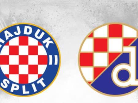 Tip dana: Hajduk – Dinamo(Nogomet, Srijeda, 05.05.2021.)