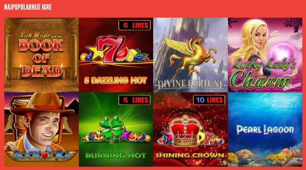Popularne igre na Rizk casinu
