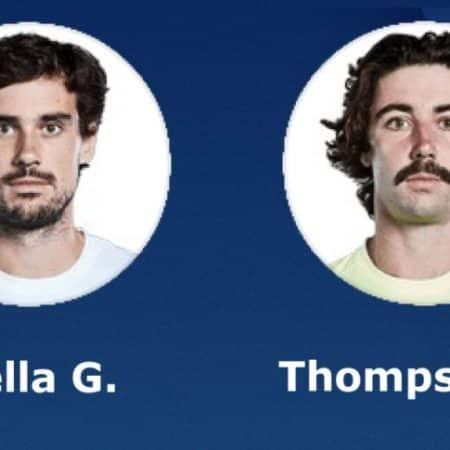 Tip dana: Jordan Thompson – Guido Pella(Tenis, Ponedjeljak, 23.08.2021.)