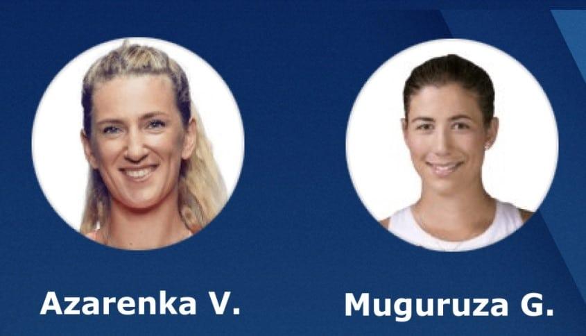 Tip dana: Victoria Azarenka – Garbine Muguruza(Tenis, Petak, 03.09.2021.)