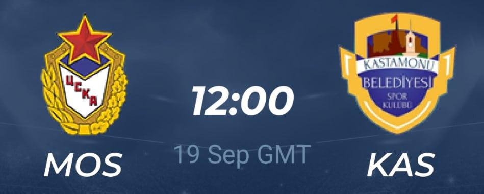 Tip dana: CSKA Moskva – Kastamonu(Rukomet, Nedjelja, 19.09.2021.)