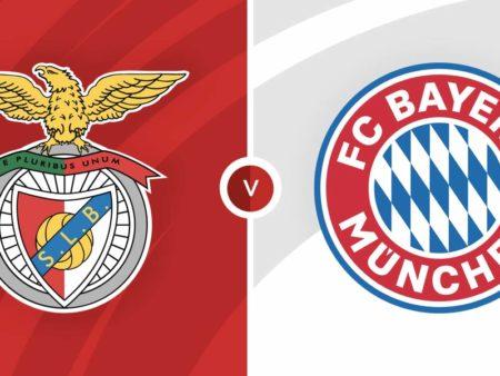 Tip dana: Benfica – Bayern(Nogomet, Srijeda, 19.10.2021.)