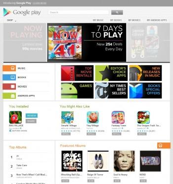 TCL S720 Google Play