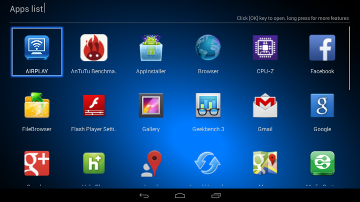 android početni ekran