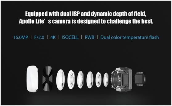 Vernee-Apollo-Lite kamera