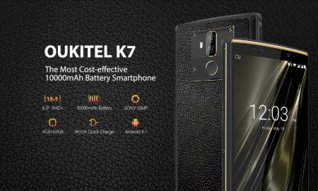 Oukitel K7, Oukitel