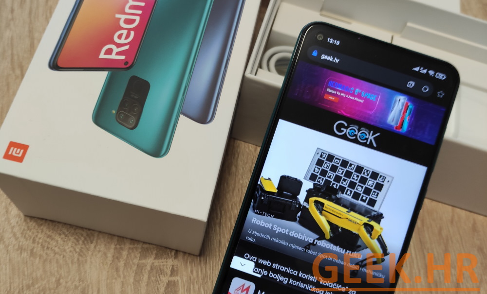 Redmi Note 9 recenzija