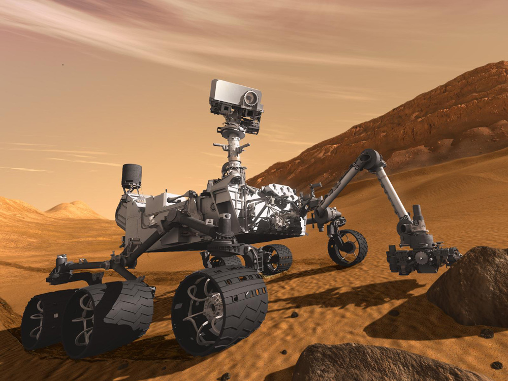 Curiosity. (Credit: NASA)