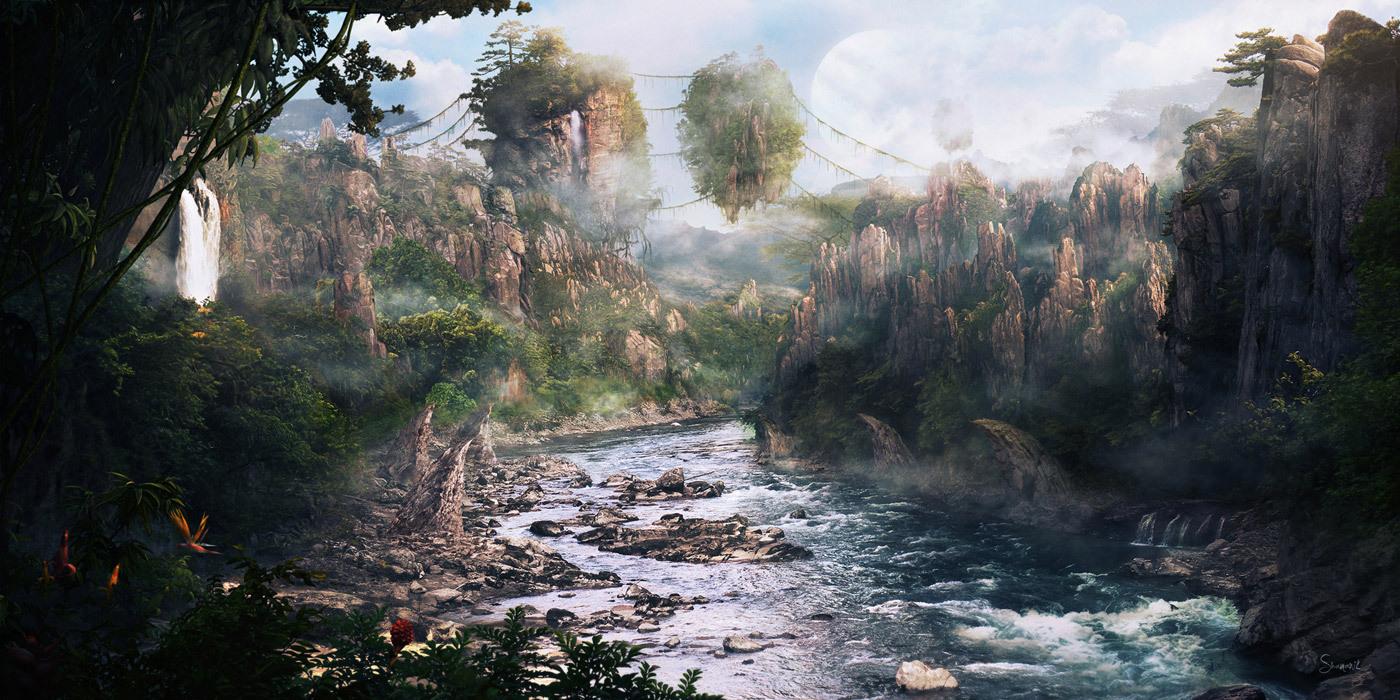 Pandora, planet na kojem se radnja odvija, izgleda maestralno