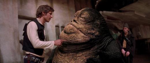 Harrison Ford i George Lucas