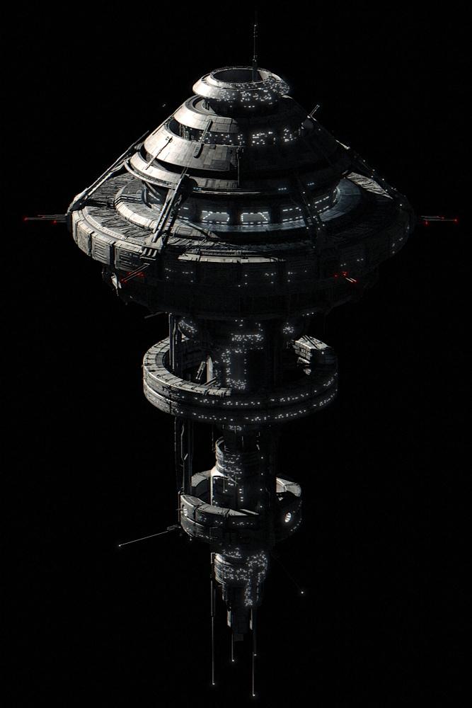 Za razliku od uređenih svemirskih stanica iz 'Star Treka', ove iz 'Dark Matter' pune su šljama