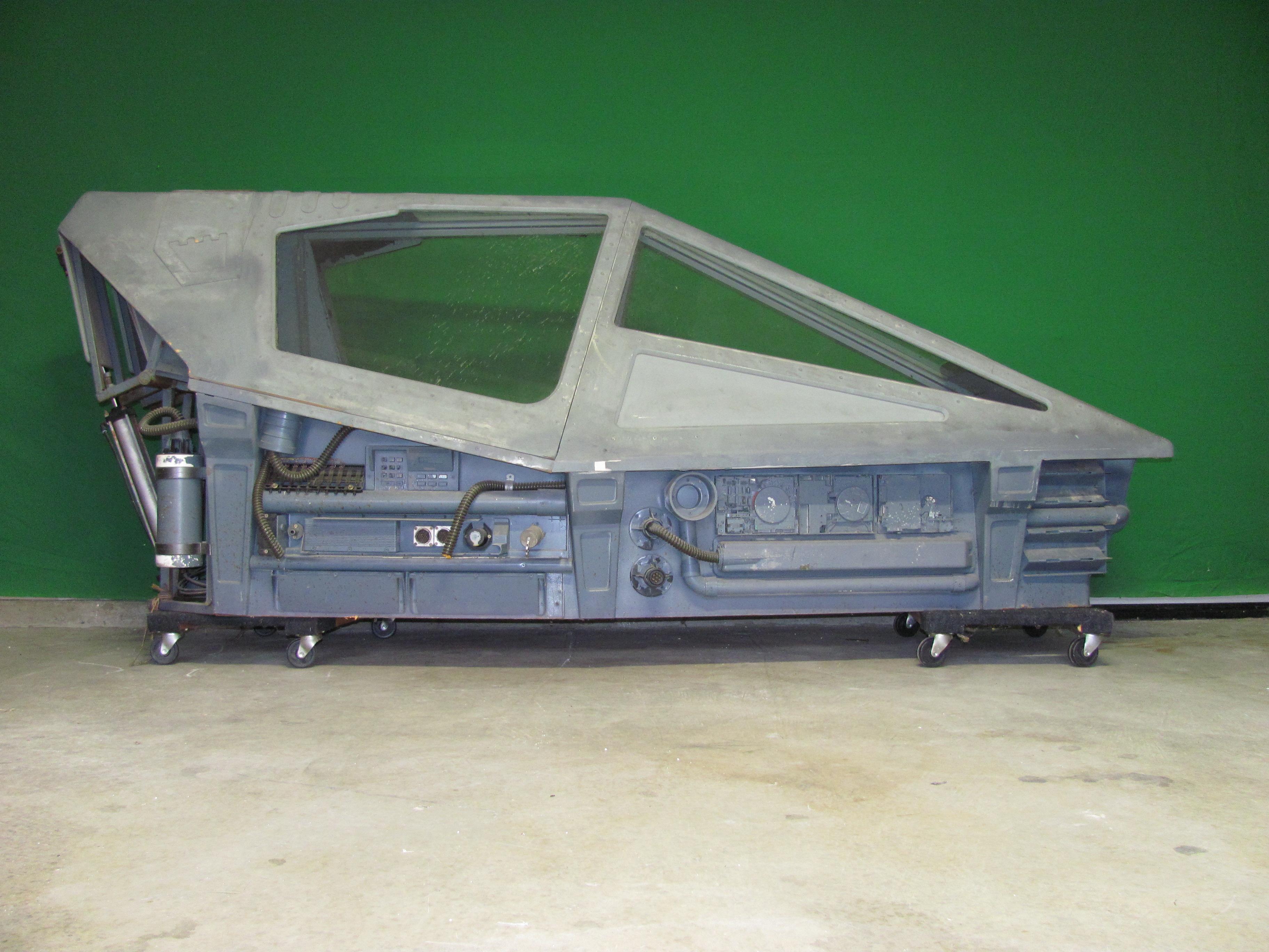 Pilotska kabina u potpunosti je odvojiva od ostatka letjelice (Credit: Wikipedia)