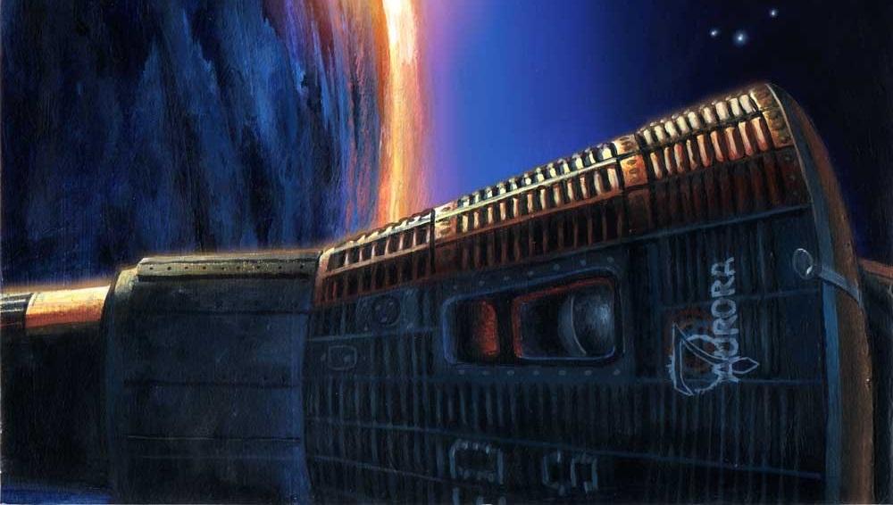 Umjetnički prikaz kapsule Mercury (Foto: joebergeron.com)