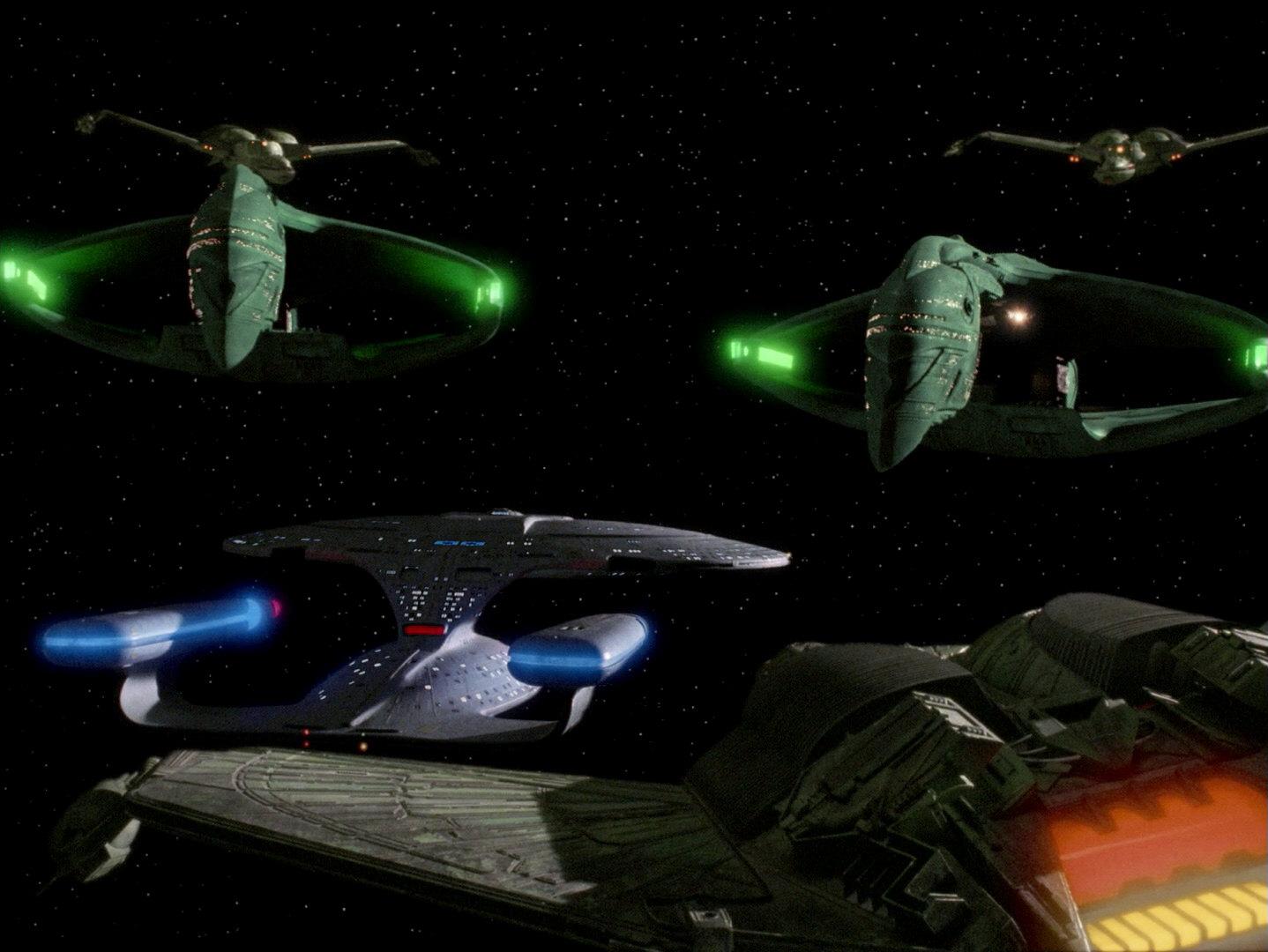 Tri najjače sile Alfa i Beta kvadranta na jednom mjestu (Credit: Paramount/CBS)