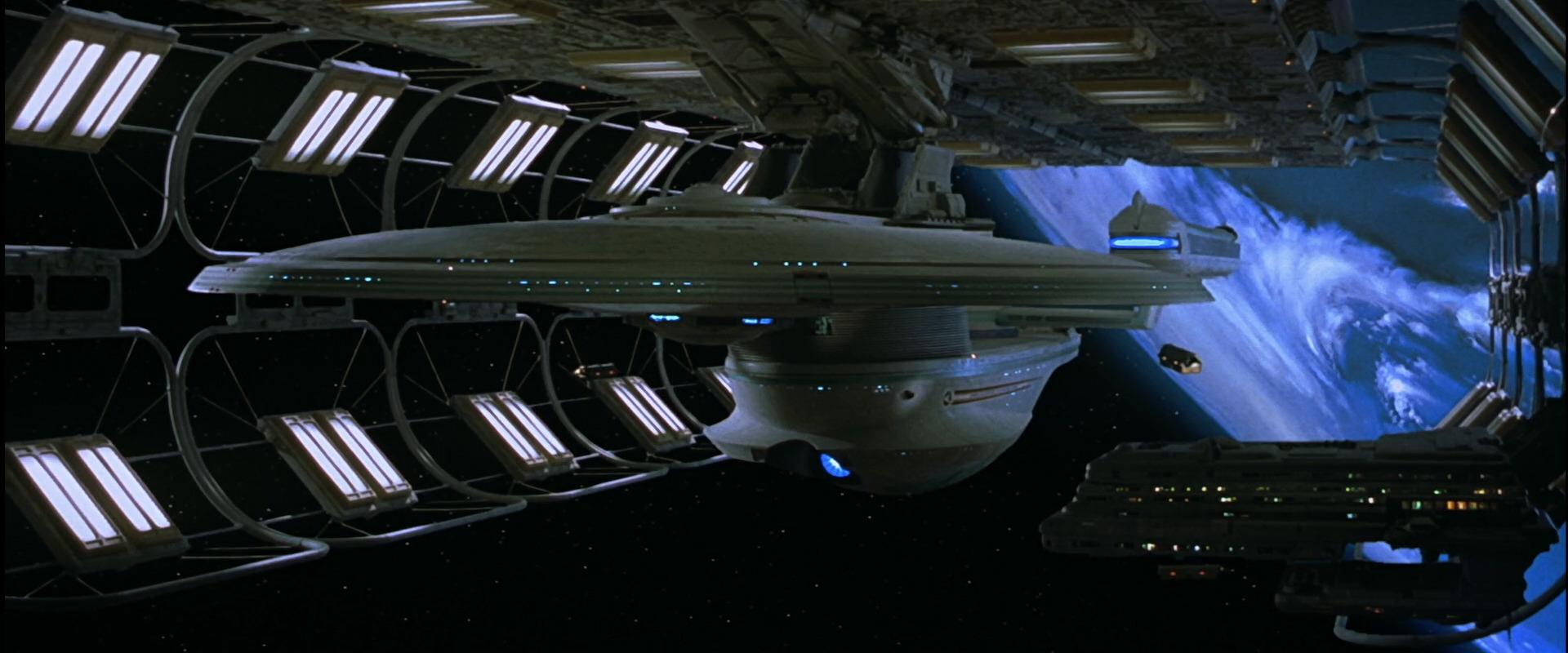 Enterprise-B pred porinuće (Credit: Paramount)