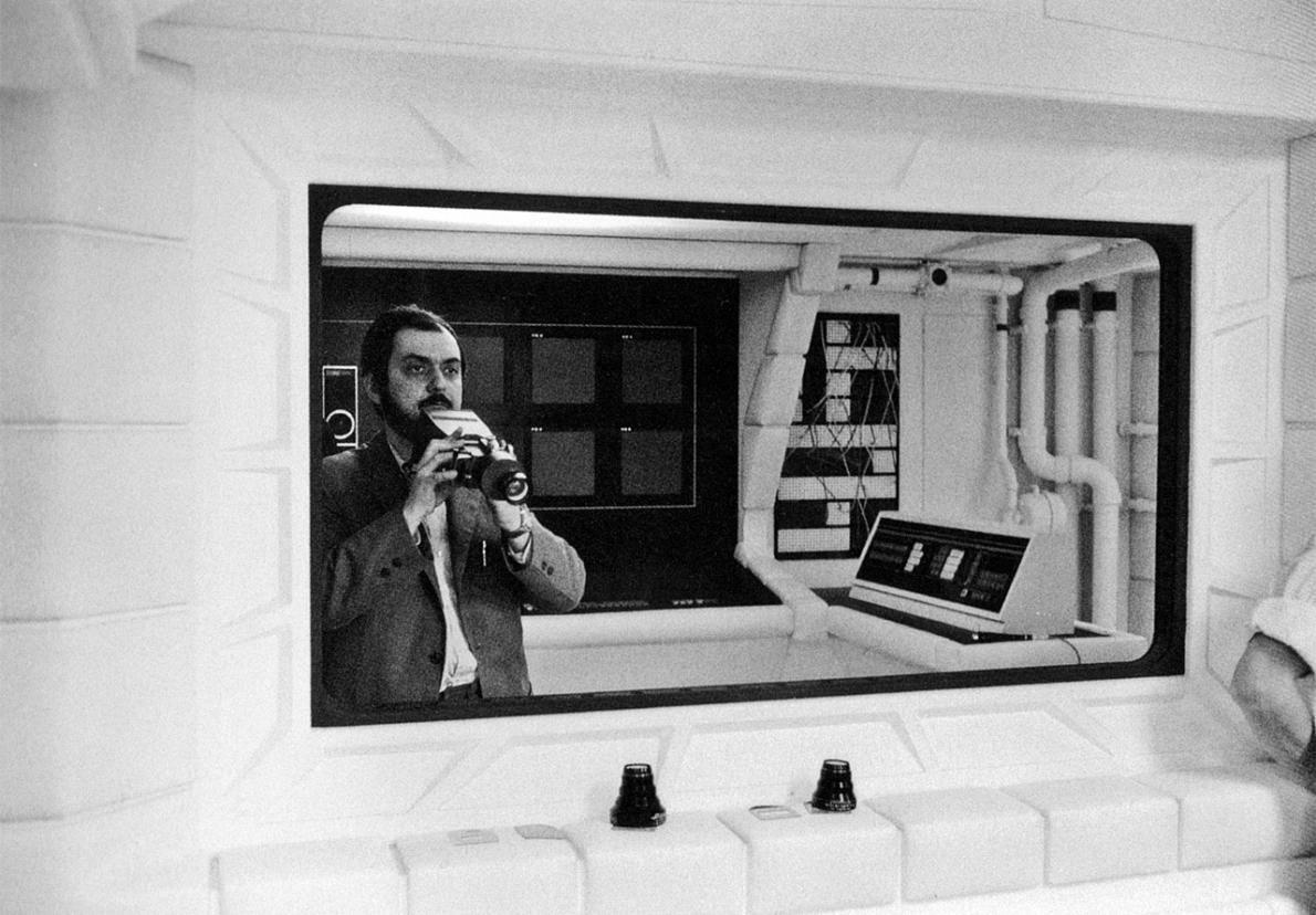 Stanley Kubrick na setu filma '2001: Odiseja u svemiru'