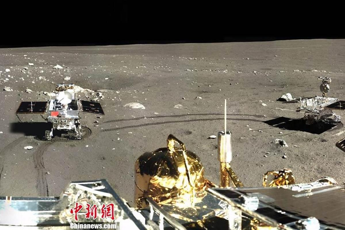 U prosincu 2013. na Mjesec je sletio rover Jutu (Credit: NBC News)