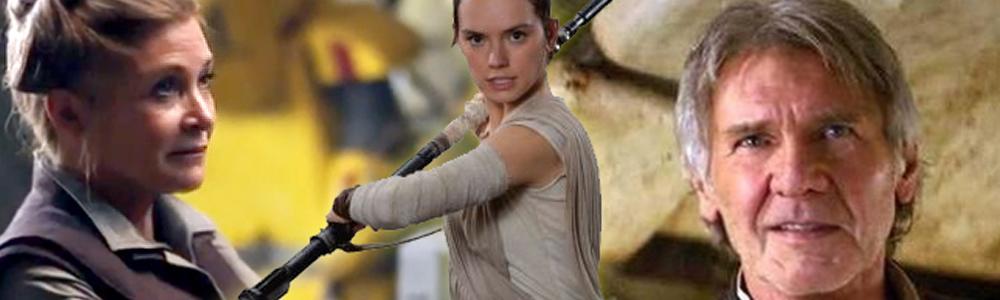 Han Solo i Generalica Lea Organa