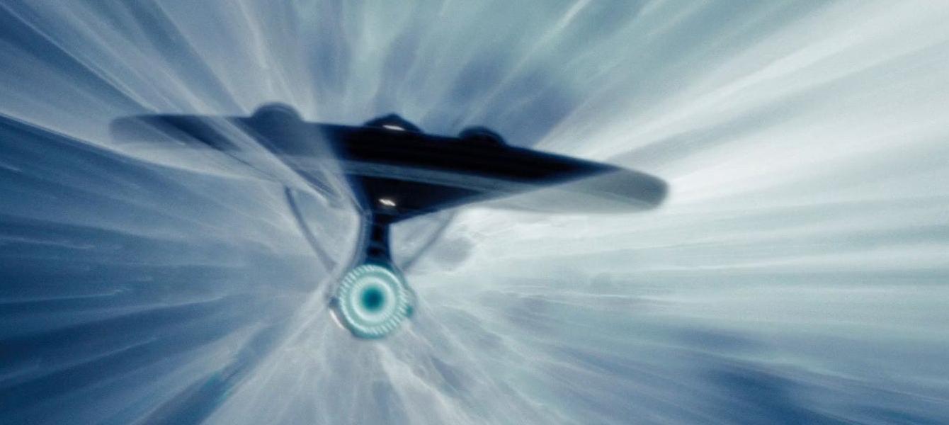 USS Enterprise u warpu