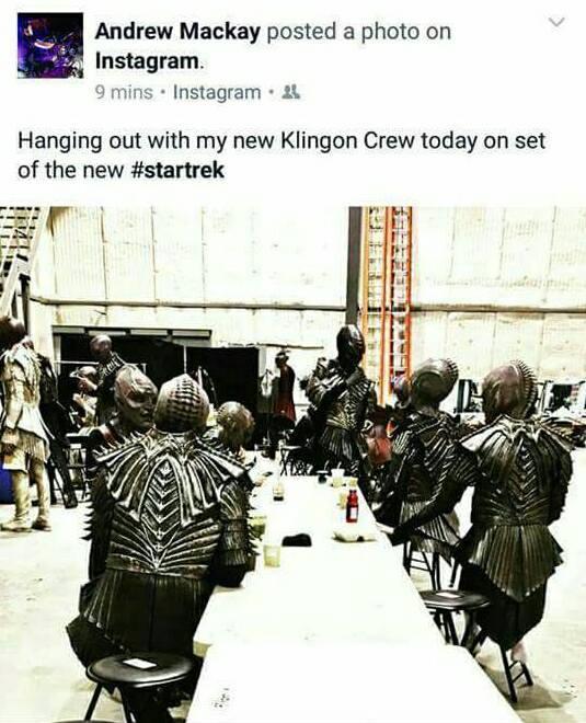 Star Trek Discovery - novi izgled Klingonaca