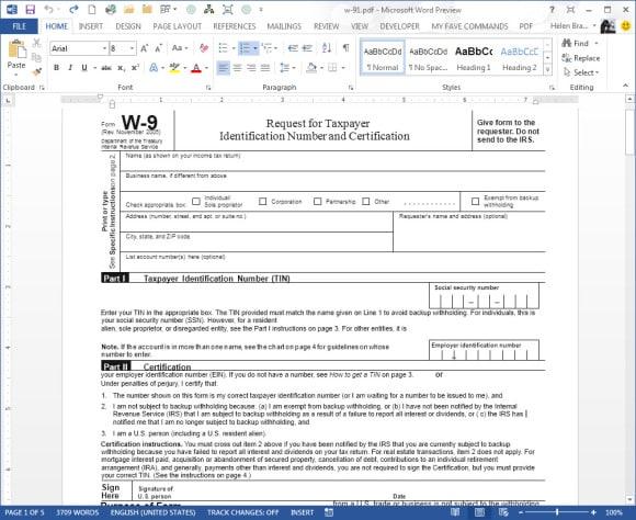 Uređivanje PDF dokumenta u Wordu