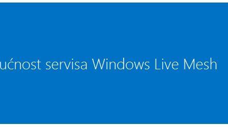 Budućnost servisa Windows Live Mesh