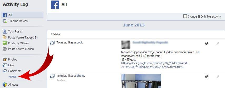 Facebook - MORE