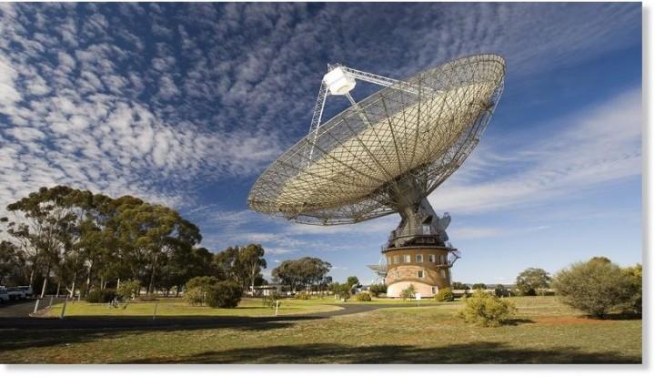Parkes teleskop (© CSIRO/EPA/Landov)