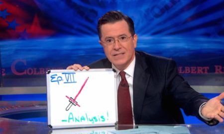 Stephen Colbert Star Wars The Force Awakens