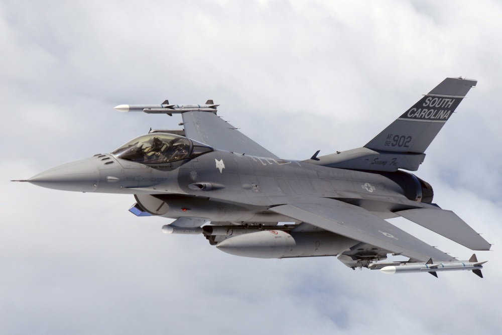F-16 Fighting Falcon (Credit: Wikipedia)