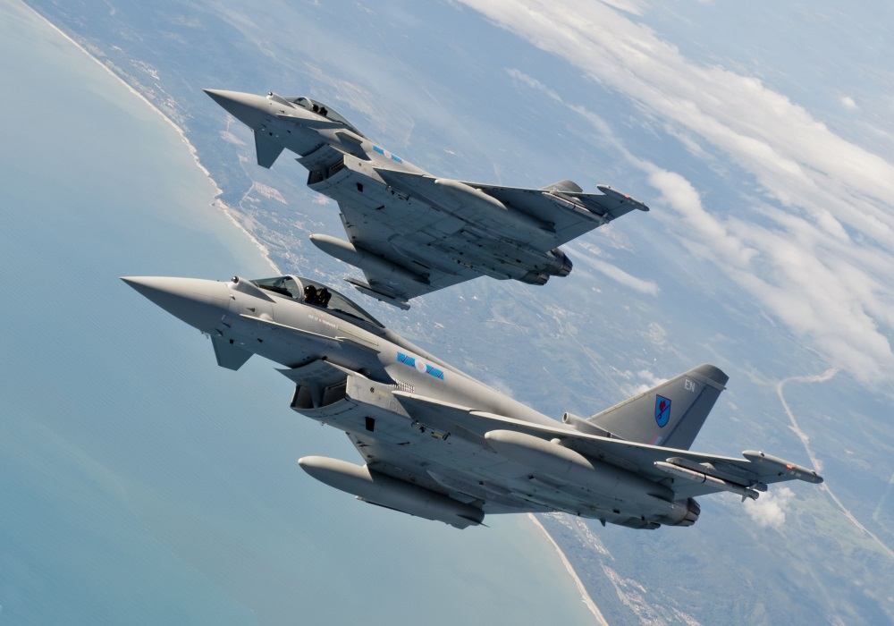 Eurofighter Typhoon (Credit: eurofighter.com)