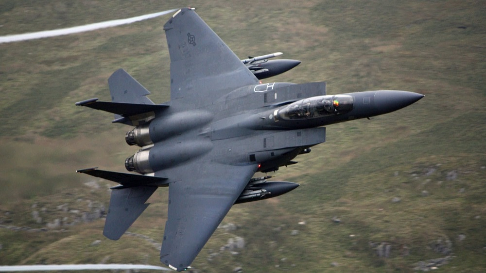 F-15 Eagle (Credit: Youtube)