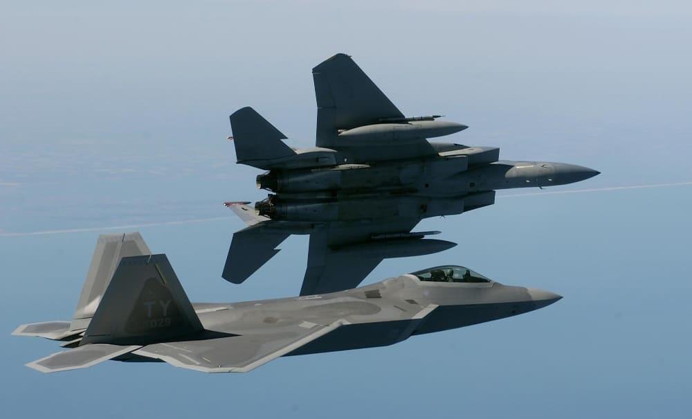 F-22 Raptor (Credit: Wikipedia)