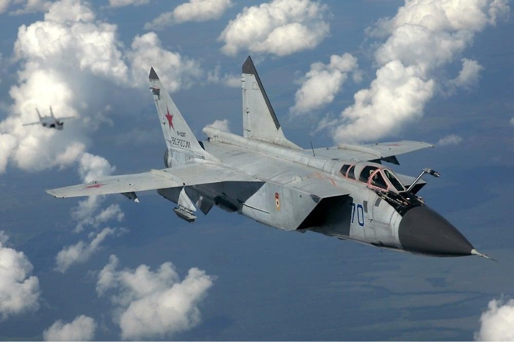MiG-31 (Credit: Wikipedia)