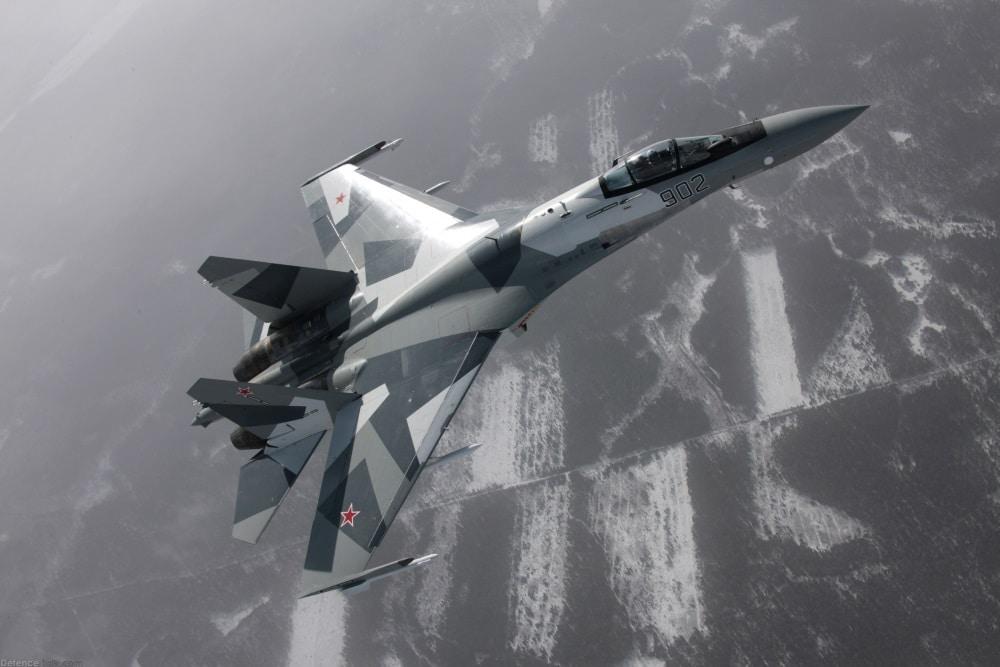 Su-35 (Credit: defencetalk.com)