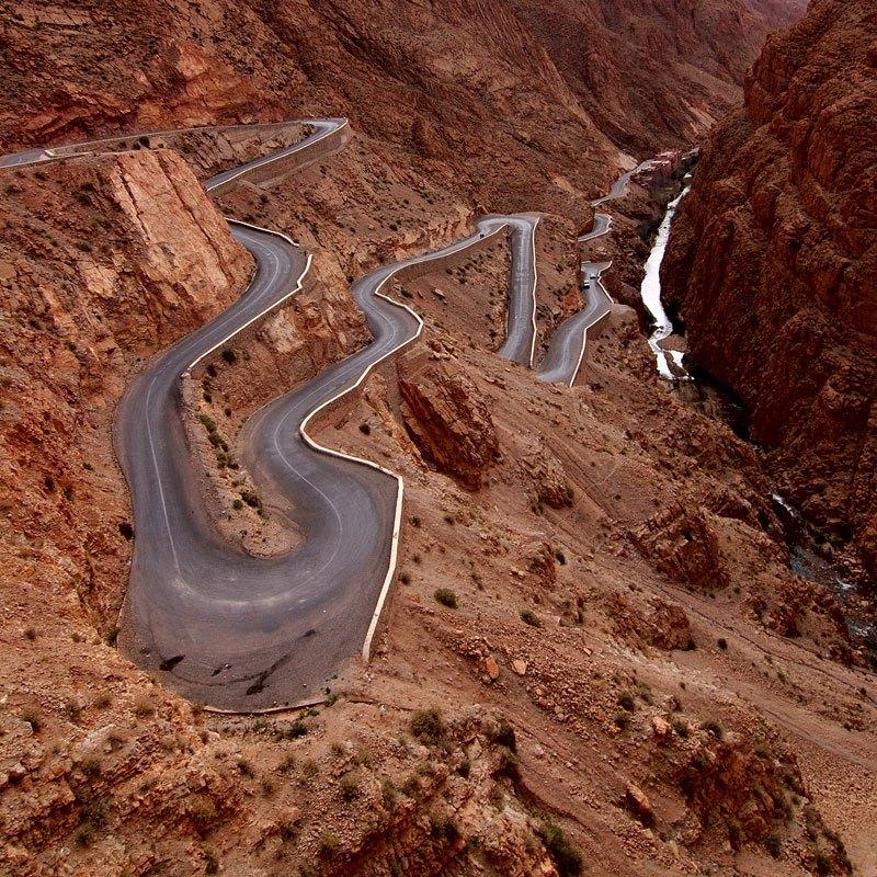 Jaruge Dadès, Visoki Atlas, Maroko