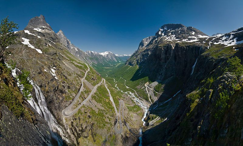 Trollstigen, Rauma, Norveška