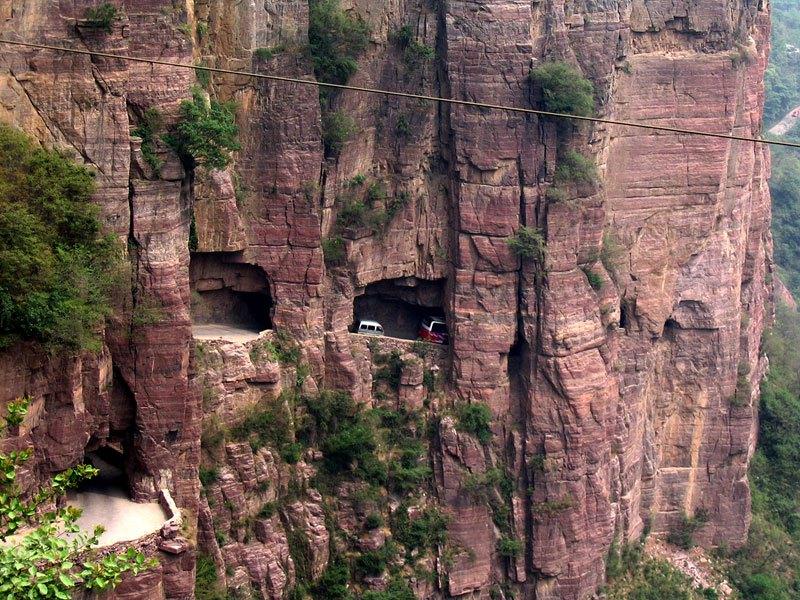 Tunel Guoliang, Kina